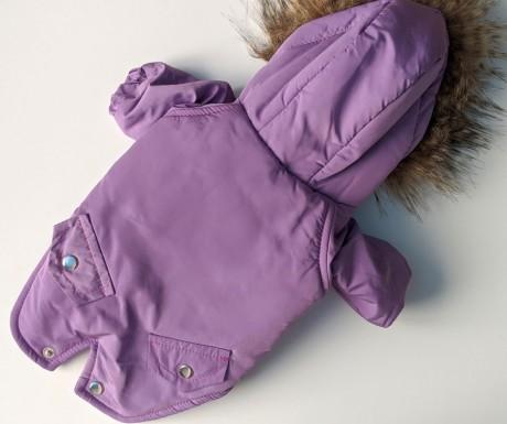 Куртка сиреневая