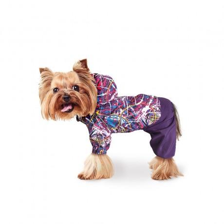"""Дождевик """"Фиолетовый"""" для собак купить"""