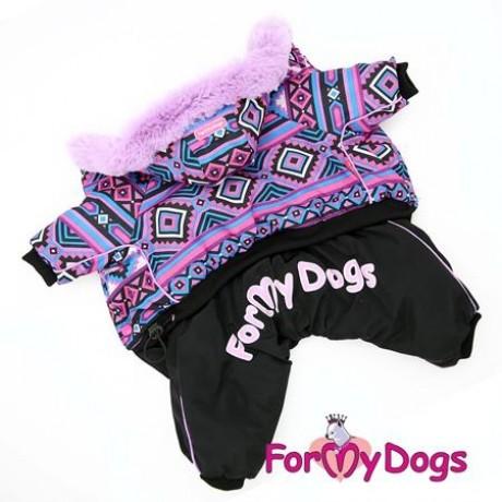 """Комбинезон """"Фиолет"""" на шелковой подкладке купить для собак"""
