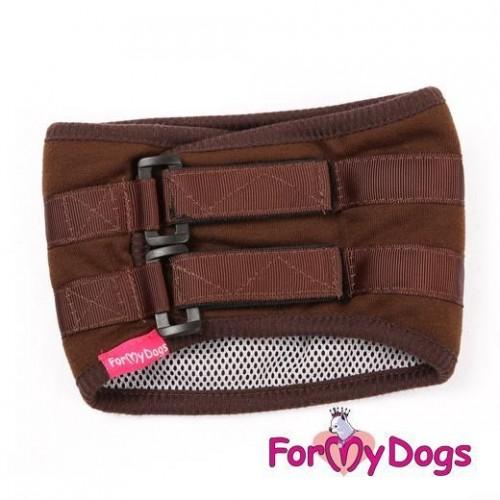 Тусы-пояс (коричневый) для собак купить