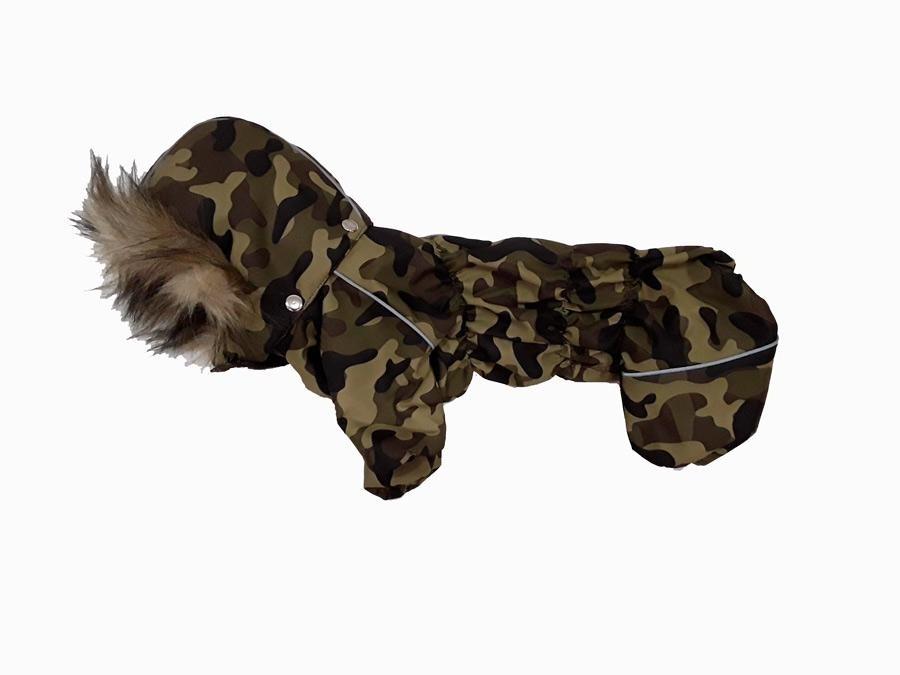 Комбинезон камуфляж темно-зеленый, мембрана для собак купить
