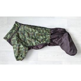 Дождевик зеленый камуфляж