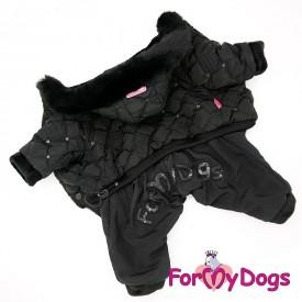 Комбинезон черный для собак купить
