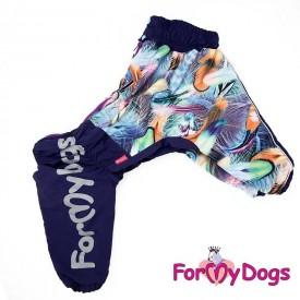"""Комбинезон для собак ForMyDogs """"Перышки"""" (фиолетовый)"""