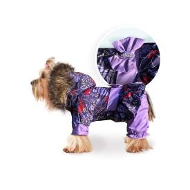 """Комбинезон """"Lovely"""" сиреневый для собак"""