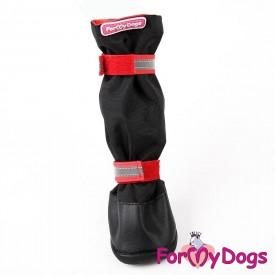 Сапоги для средних и крупных собак черный