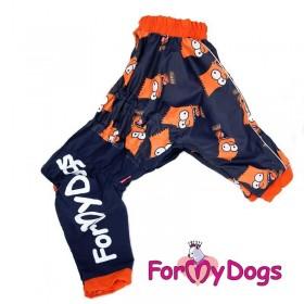 """Дождевик для собак ForMyDogs """"Мульт"""""""