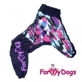 "Дождевик для собак ForMyDogs ""Stain"" (размер А0)"