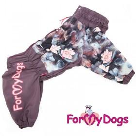 """Дождевик для собак ForMyDogs """"Лотос"""""""