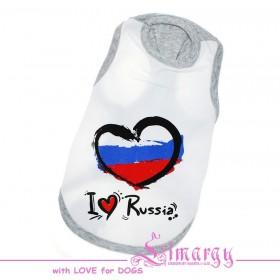 "Майка для собак Limargy ""Russia"""