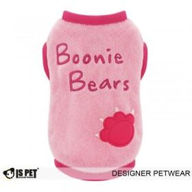 """Кофта для собак Is Pet плюшевая """"Boonie"""" (розовый)"""