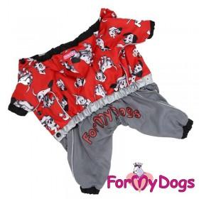 """Комбинезон для собак ForMyDogs """"101 далматинец"""" для мальчика"""