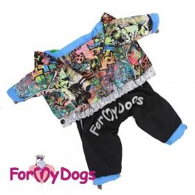 """Комбинезон для собак ForMyDogs """"Street style"""""""