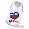 Майка для собаки I love Russia